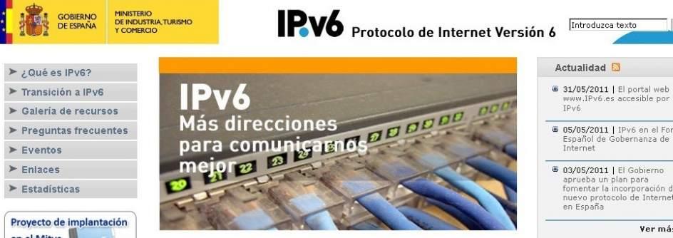 Todo listo para el estreno de IPv6, el protocolo que marcará el futuro de Internet