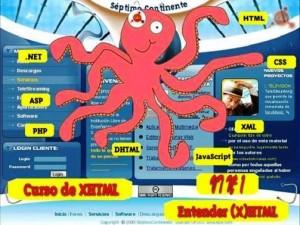 Curso Completo de XHTML, CSS y JavaScript Online