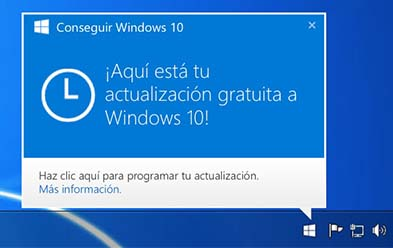 Image of notification icon