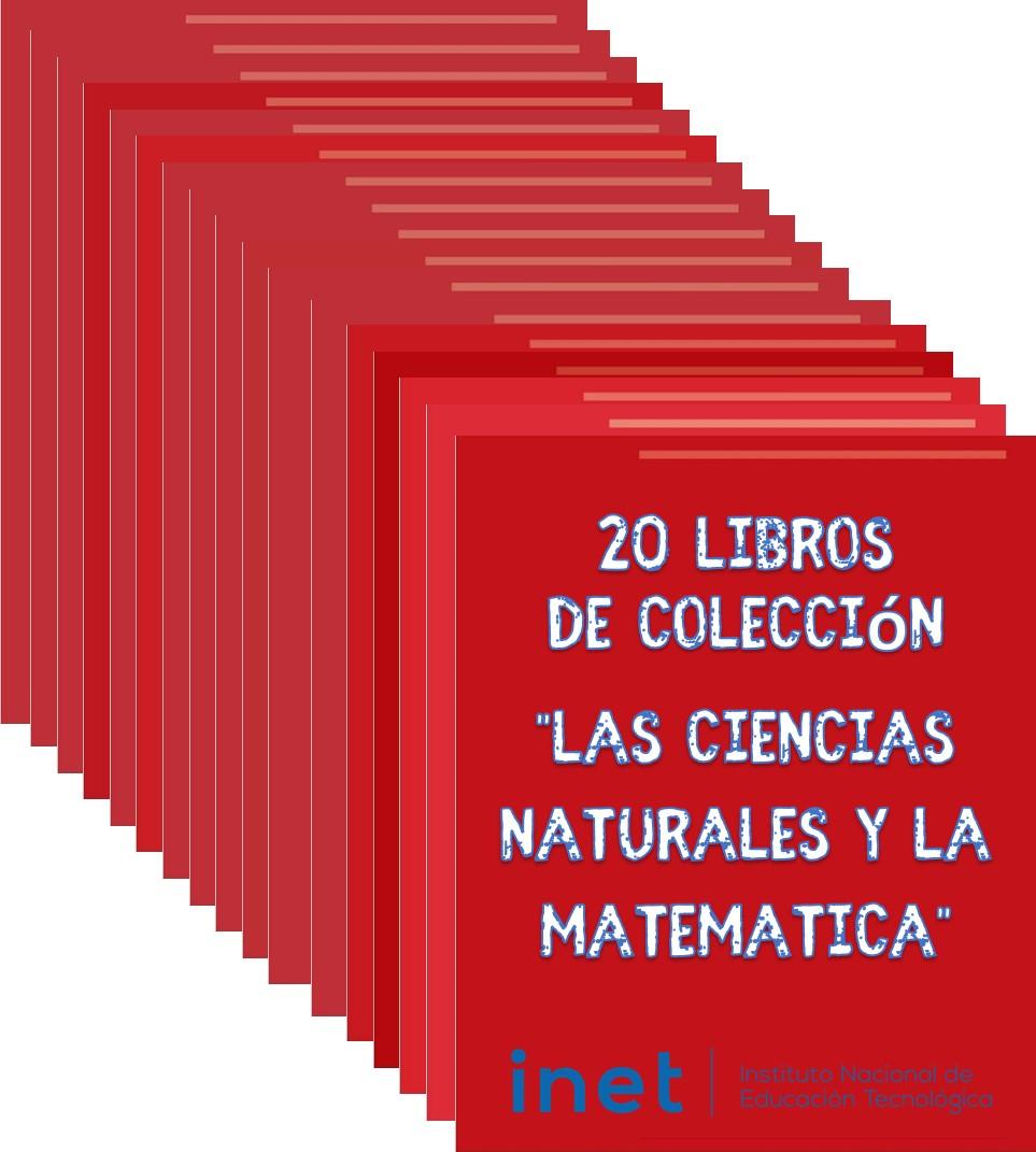 """20 Libros de Colección """"Las ciencias naturales y la matemática"""""""