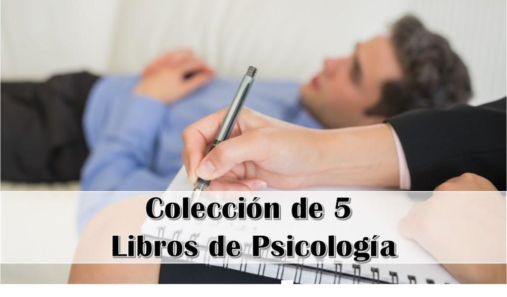 Colección de 5 Libros de Psicología