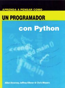 Como pensar como un científico de la computación con Python