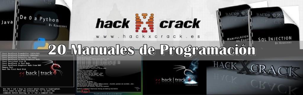 20 Manuales de Programación – Hack x Crack