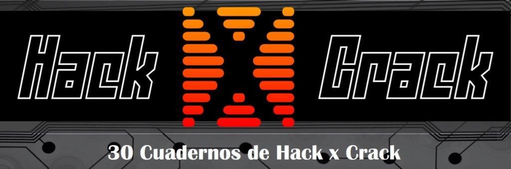 Colección de 30 Cuadernos de Hack x Crack [PDF + Programas]