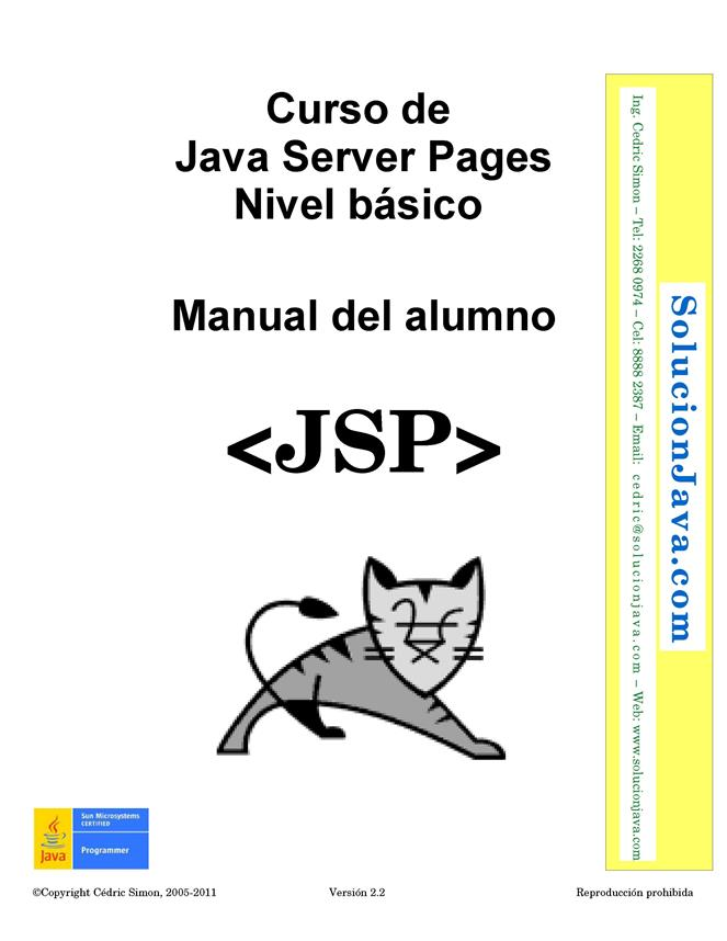 Curso de Java Server Pages: Nivel básico – Manual del alumno