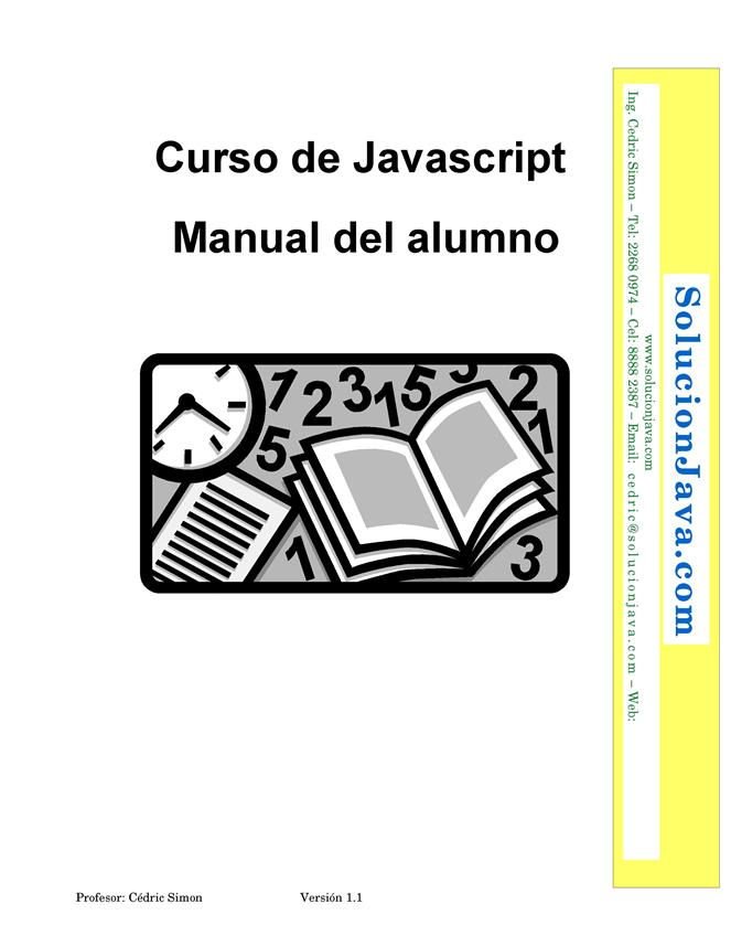 Curso de JavaScript – Manual del alumno