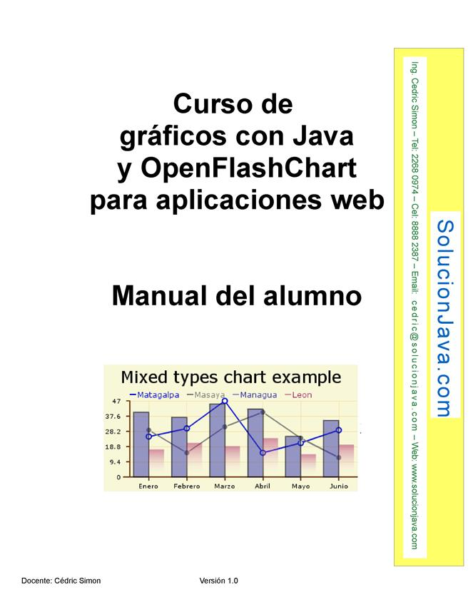 Curso de gráficos con Java y OpenFlashChart para aplicaciones web – Manual del alumno
