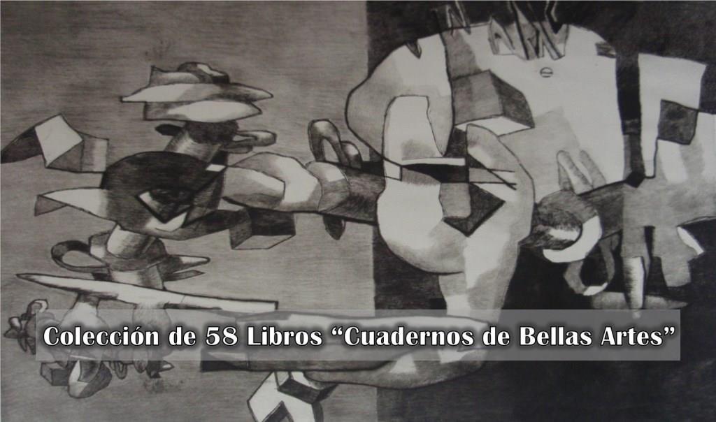 Colección de 58 Libros Cuadernos de Bellas Artes – CBA