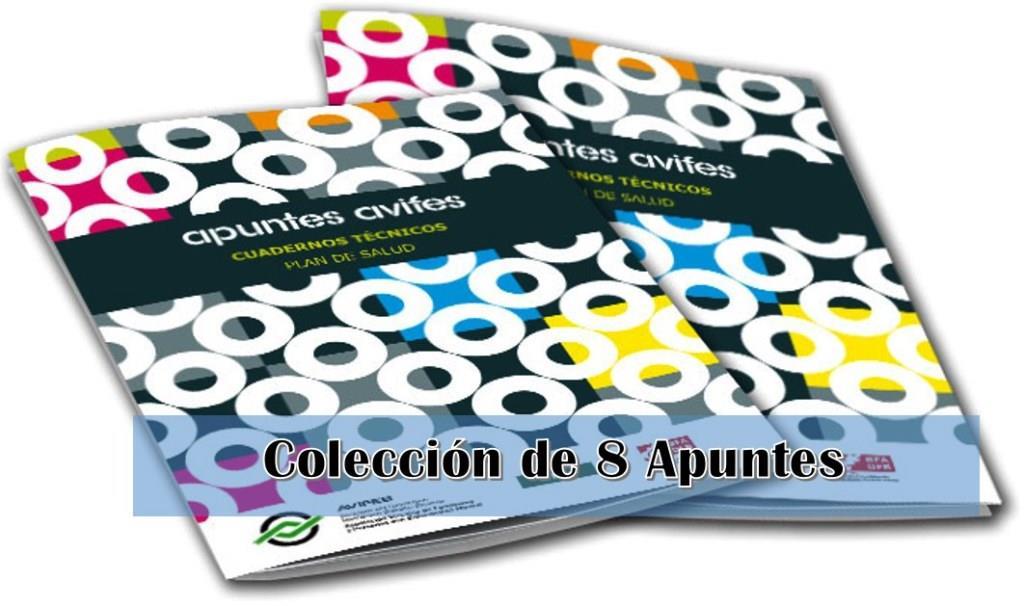 Colección de 8 Apuntes – AVIFES