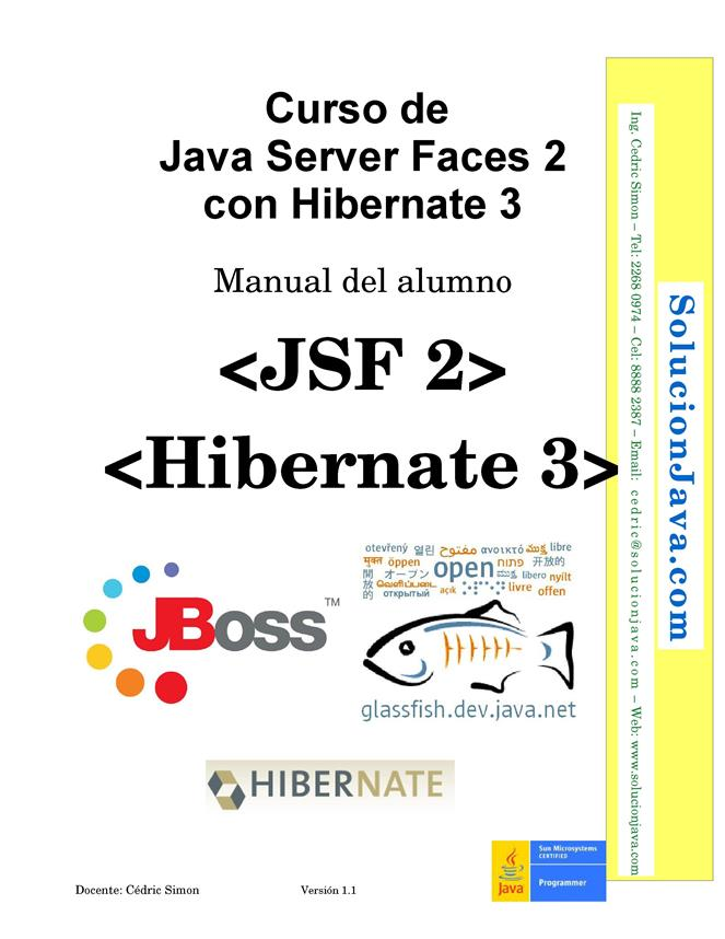 Curso de Java Server Faces 2 con Hibernate 3 – Manual del alumno