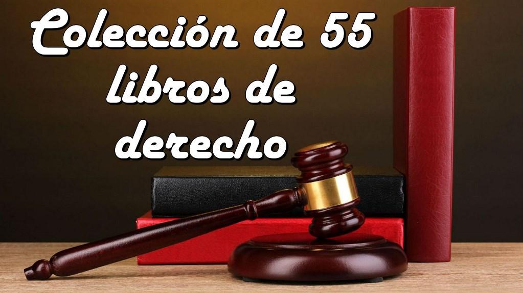 55 Libros de Derecho