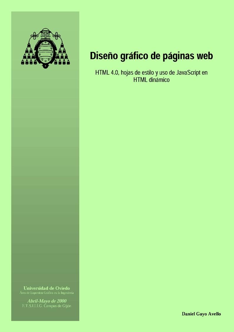 Diseño gráfico de páginas web