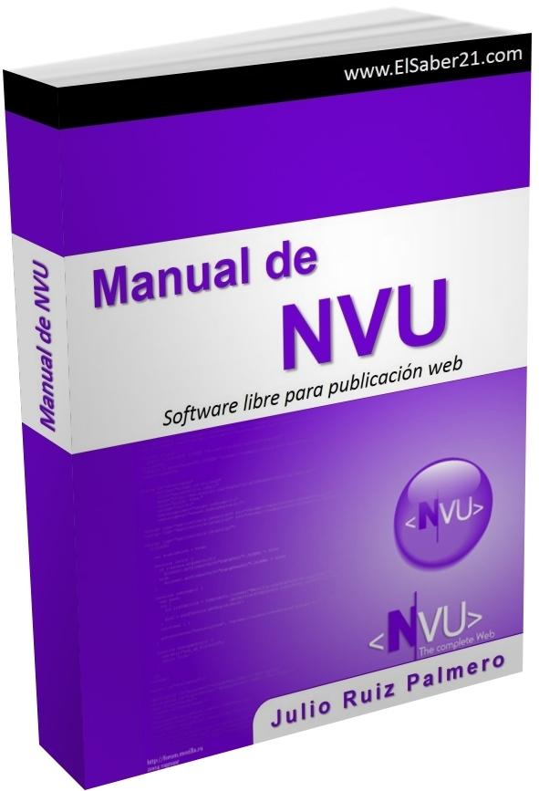 Manual de NVU: Software libre para publicación web