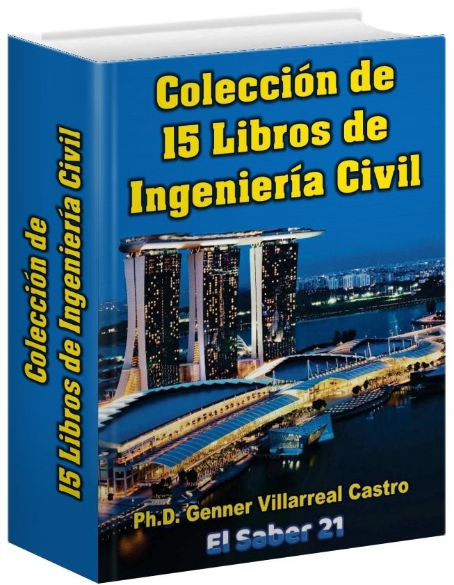 15 Libros de Ingeniería Civil – Genner Villarreal Castro