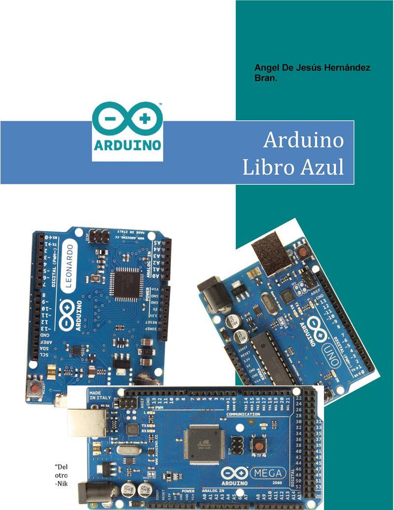 Arduino Libro Azul