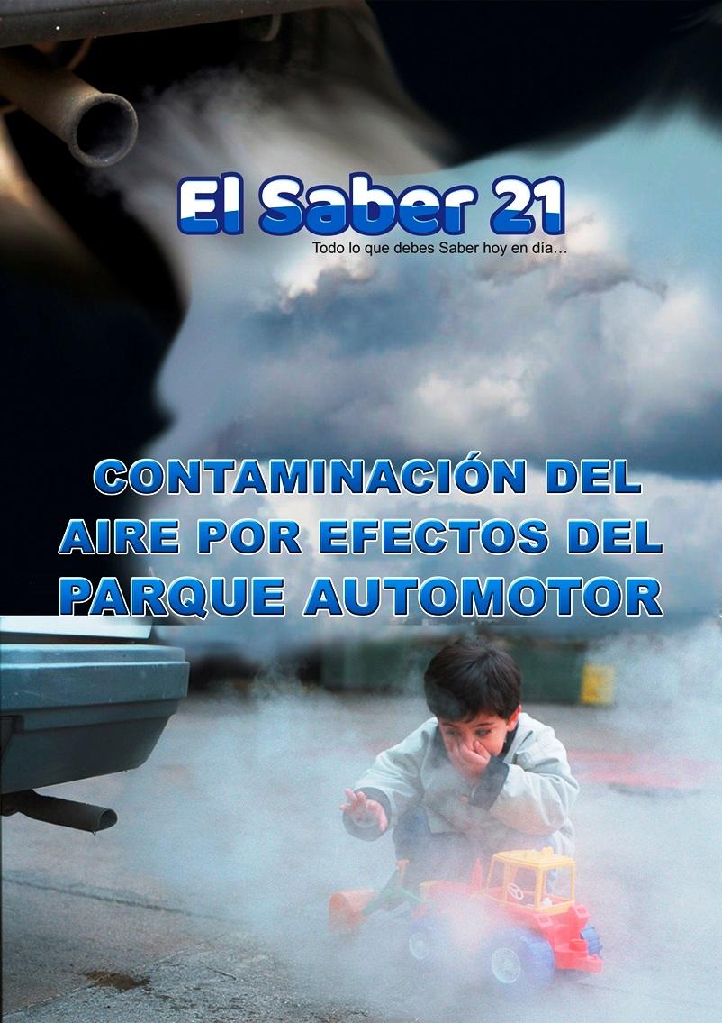 Contaminación del aire por efectos del Parque Automotor