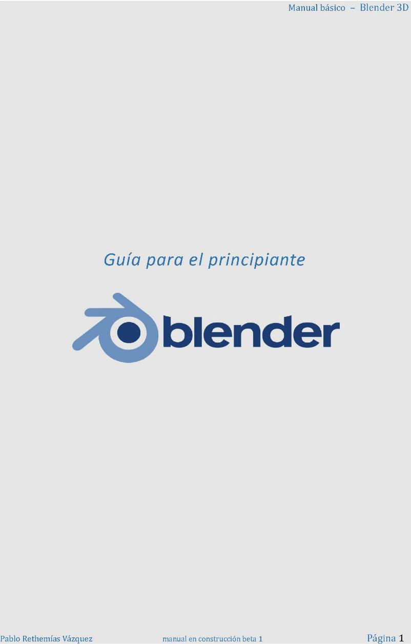 Manual básico: Blender 3D