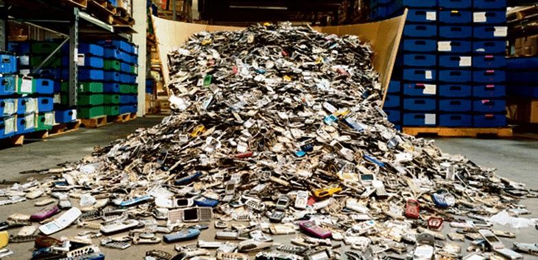 El reciclaje de los móviles o teléfonos celulares
