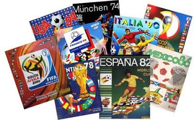 Navegando me encontré con los álbumes que ha sacado Panini de los mundiales  de fútbol desde México 1970 hasta Brasil 2014. ea24b2609539f