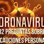 32 Preguntas Sobre Precauciones Personales de Coronavirus o COVID-19