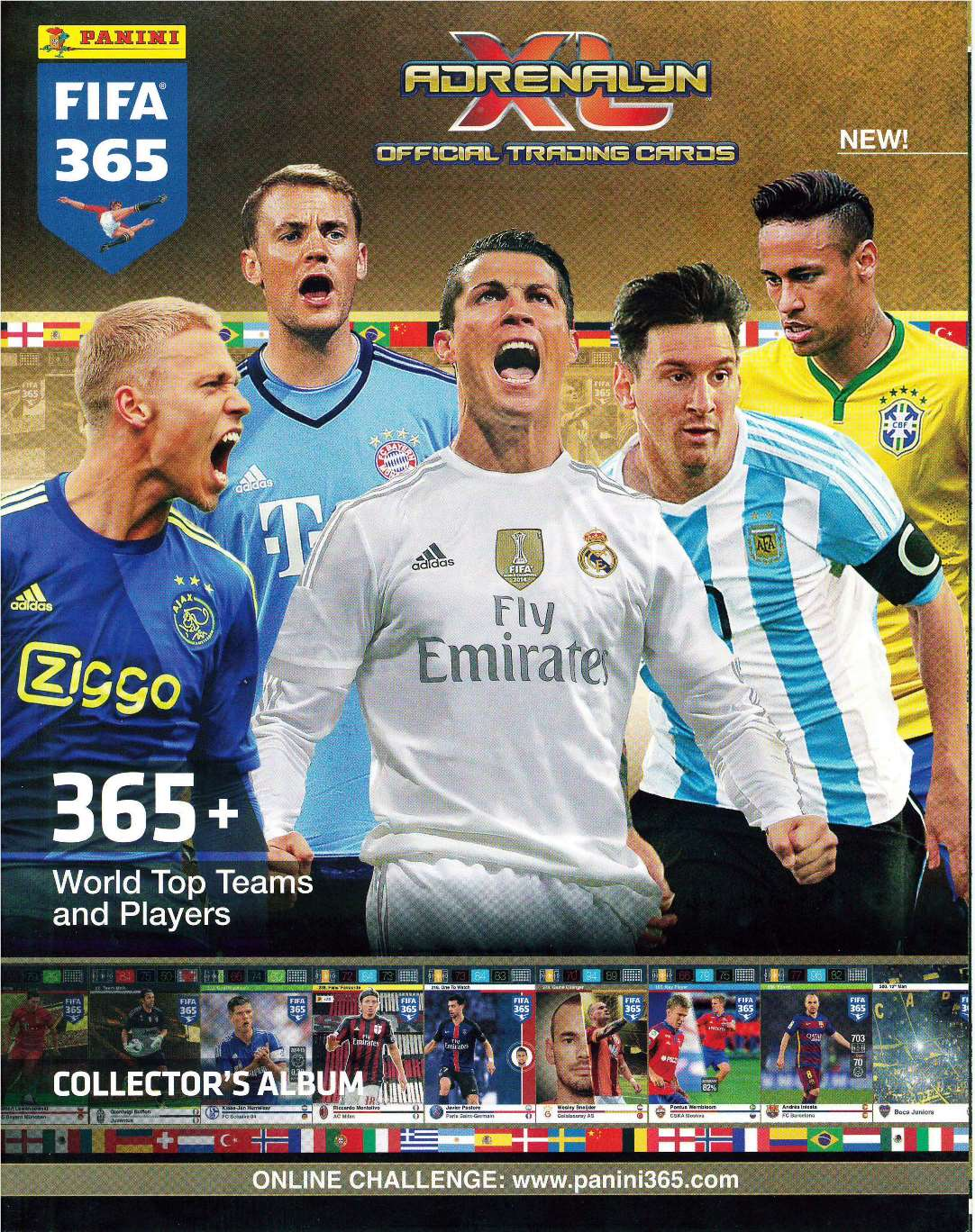 Adrenalyn Xl Fifa 365 2016 Panini Trading Cards Elsaber21