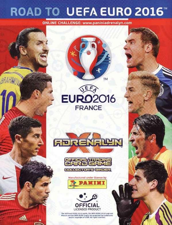 Adrenalyn Xl Road To Uefa Euro Francia 2016 Panini Elsaber21