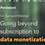 Más allá de la suscripción a la monetización de datos