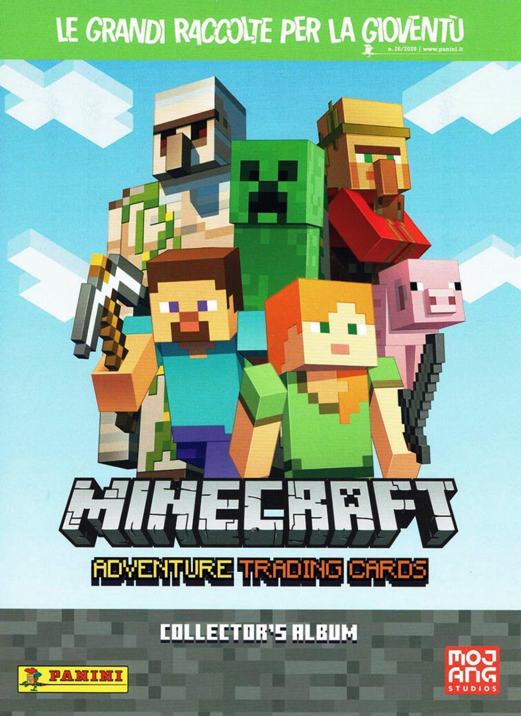 Minecraft Adventure Trading Cards